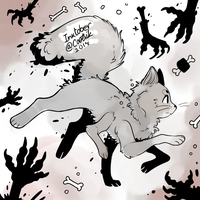 Ink/Goretober Day #1 - Extra Limbs by Cootsik