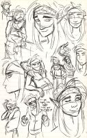 Kern Sketches by DrMistyTang