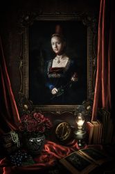 Portrait of a Lady by RankaStevic