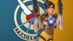 Overwatch Tracer wallpaper 5 by USSRIV