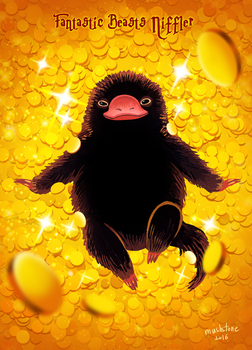 Fantastic Beasts : Niffler by Mushstone