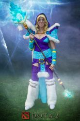 Crystal Maiden- DOTA2 by JennCroft