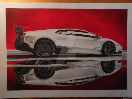 Lambo reflection by przemus
