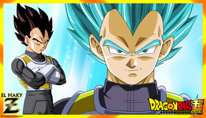 (Wallpaper) Dragon Ball Super - Vegeta by el-maky-z