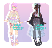 Pastel Gurls [CLOSED] by SushiGoddess