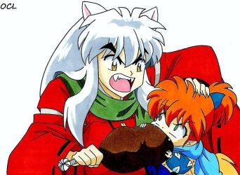 Thanksgiving 2014 -- InuYasha by OneColoredLily