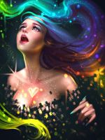 The colors of heart by AyyaSAP