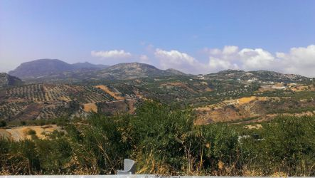 Crete - The land by Gwathiell