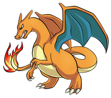 Day 21 - Charizard by PrinceofSpirits