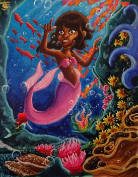 Disney MerMay Contest: Gabriella by Tabascofanatikerin