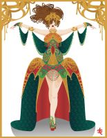 Art Nouveau Princess by phantomonex