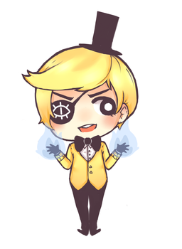 Bill Cipher by PukaaParanoid