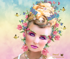 Spring Girl by tinca2