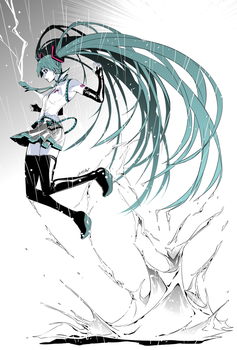 No, Thank You, Miku by ComiPa