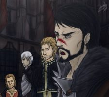 Templars and Mages by letyumino