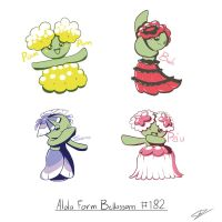 Bellossom Alola Form by GdGreat