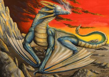 Blue Dragon by jalv