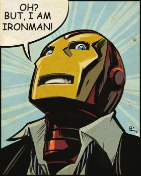 Oh   but I Am Ironman by E-Mann