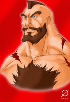 Zangief by Osmar-Shotgun