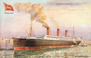Cunard Line RMS Berengaria by Yesterdays-Paper
