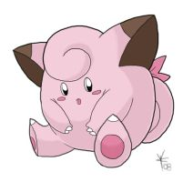 Clefairy by brackenhawk