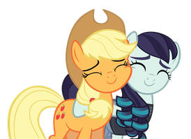 AJ and Rara by ChrisPs2