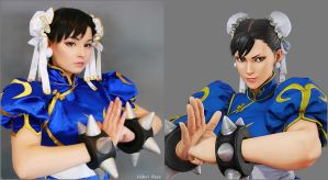 Chun Li cosplay by Hidori Rose by HidoriRose