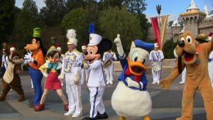 The Disneyland Band with Mickey and Pals by S775