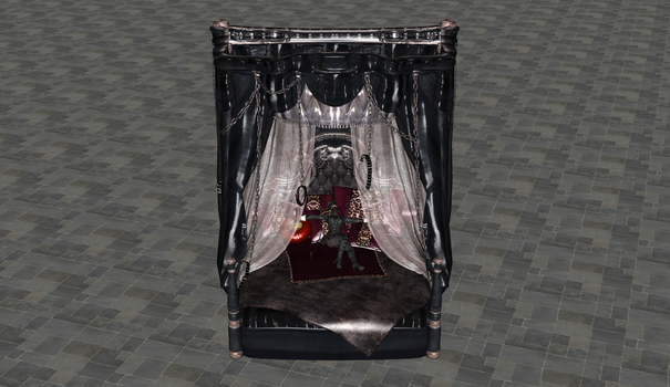 [XPS] Succubus Queen Bed by ssidey