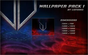 Listoric's Wallpaperpack I by Listoric