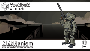 Yoshiyuki: AS - 030712 (colored) by WithintheMechanism
