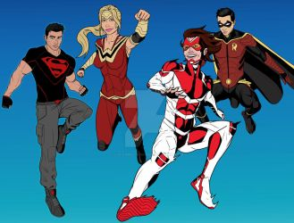 Young Justice - 01 2019 by LucasBoltagon