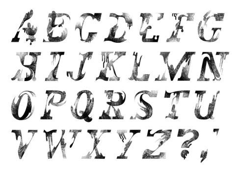 Beach Typeface Version 1 by Monkey-Mafia