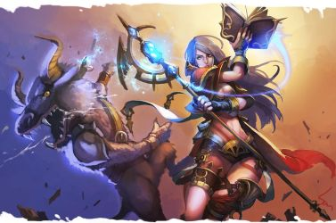 mage attack by Nawol