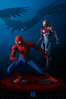 Team Spidey by PhotoshopIsMyKung-Fu