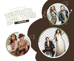 Pack Png 08 - Tom Holland and Zendaya by ChainsPngs
