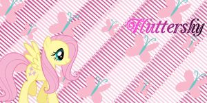 Fluttershy Twitter Header by AceofPonies