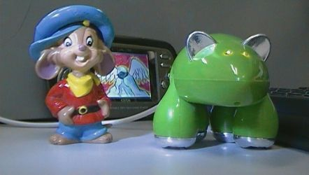 Fievel Mousekewitz and Robot Mouse 002 by jaycebrasil