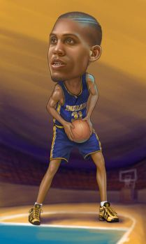 reggie miller by clapano