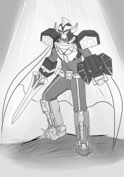 BW Commission: Kamen Rider Mighty Morphin by KegiSpringfield