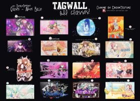 Tagwall: All Classes!. by LovelyxWolf