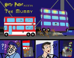 Harry Potter meets The Mummy by WolfenM
