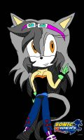 Sanaa in Sonic Riders by SunshineCat2