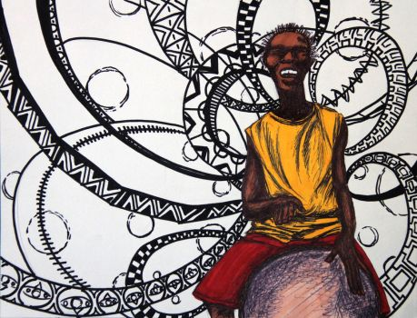 AP Studio Art 2014: Concentration 1 (African Beat) by Skanday