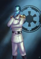 Grand Admiral Thrawn by cric