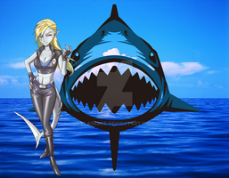 Blue Shark by BLADEDGE