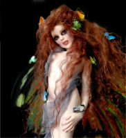Madame Butterfly Faerie 2 by wingdthing