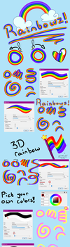 Free Rainbow brush with user colors by Nuubles
