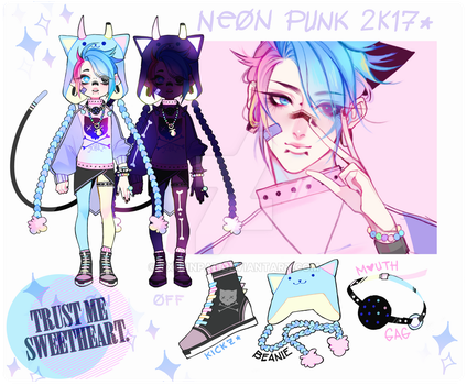 NEONPUNK - KOOLKAT [CLOSED] by txunnpae