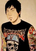 Zacky Vengeance Colored Pencil by Nikky-VIIX
